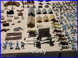 Marx Battle Of The Blue & Gray Play Set Box#4745