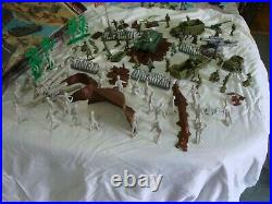 Marx Battle ground #4204 WWII 1978 Playset. See Pic's. NEW PRICE