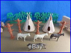 Marx Battle of the Little Big Horn set from 1967 -no box