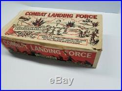 Marx Battleground 2649 Combat Landing Force Playset Original, Complete, Rare