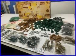 Marx Battleground 3 Sets 6017 18 & 19 Very Nice Sets Rare Xmas Gifts