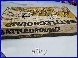 Marx Battleground 3745 Korean Set In Original Box 1960s Must See