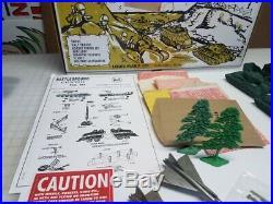 Marx Battleground 3745 Korean War Playset Tribute With Genuine Marx Items
