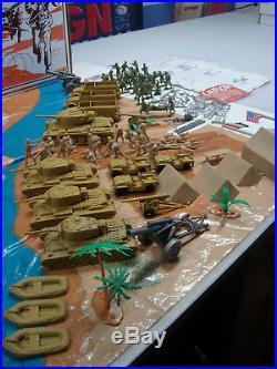 Marx Battleground 4178mo Desert Fox Playset Very Excellent Wow