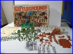 Marx Battleground 4204 Complete Very Nice Playset