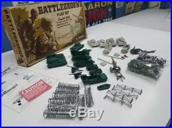 Marx Battleground 4757 Mo In Original Box 1972 Must See! Almost Complete