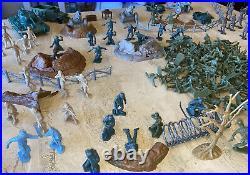 Marx Battleground Allies Vs Axis Playset