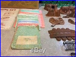 Marx Battleground Beach-Head Landing Play Set Box#4639
