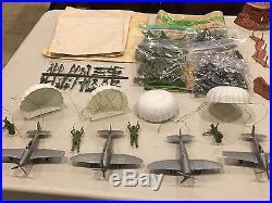 Marx Battleground Beach Head Landing Set Box #4638
