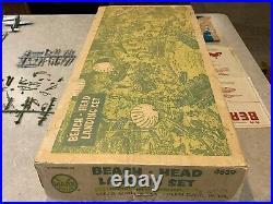 Marx Battleground Beach-Head Landing Set Box#4639