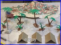 Marx Battleground Beach Head Play Set Series 2000 Box#4732MO