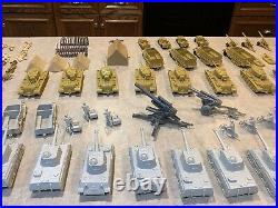 Marx Battleground Desert Fox Play Set Box#4178MO