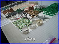 Marx Battleground Europe 4182 (5939) Play Set Complete 99% No Box