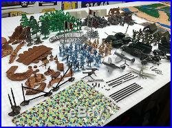 Marx Battleground European 5950 Play Set Sears 99% Authentic
