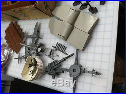 Marx Battleground European 5950 Play Set Sears 99% Authentic Items