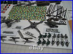 Marx Battleground European Playset 5950 / 4173 Contents With Handmade Box