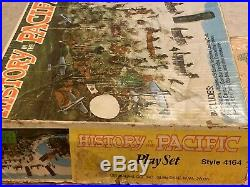 Marx Battleground History In The Pacific Play Set Box#4164