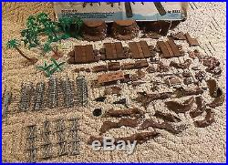 Marx Battleground History In The Pacific Play Set Style # 4164