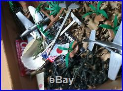 Marx Battleground Iwo Jima 6062 Playset Sears Loaded