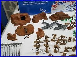 Marx Battleground Iwo Jima History Pacific Playset 4164