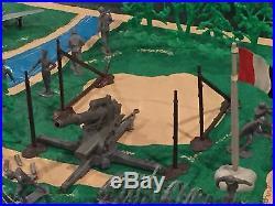 Marx Battleground Landing Set (No Box)