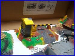 Marx Battleground Like 1965 Ideal Battle Action Cambat Set In Orig Box Many Extr