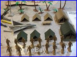 Marx Battleground Marine Beach Head Play Set Series 2000 Box#4732MO