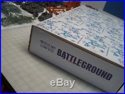 Marx Battleground Montgomery Ward 4169 Mo Handmade Playset 414 Pcs. Wow