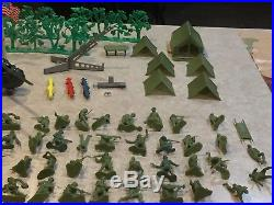 Marx Battleground Play Set Box#4752