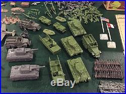 Marx Battleground Play Set Box#4757MO