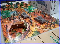 Marx Battleground Playset Mini Battle Series Bymarx Custom Boxart