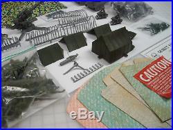Marx Battleground Playset Tank Battle 4172 Sears 6056 Very Rare
