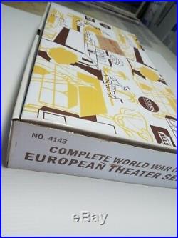 Marx Battleground Sears Europe Wwii Tribute Playset Wow! 187 Pc Set