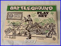 Marx Battleground WWII Playset 1995 Commemorative Edition COMPLETE 4113