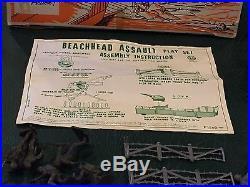 Marx Beachhead Assault Set Box#0641