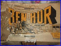Marx Ben Hur Play Set Series 5000 Box 4701 With Playset Bags
