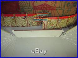 Marx Big Top Circus set in Orig. Box 1950, s Scarce set like this