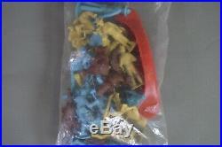 Marx Boy Scout Playset Boy Campers Header Bag set