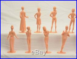 Marx Campus Cuties RARE 2nd Series Figure Day at the Races Marx Playset