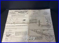 Marx Cape Canaveral Missile Base /set Original Box, Instruction