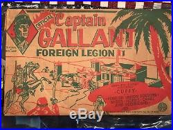 Marx Captain Gallant Playset