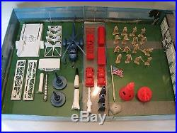 Marx Carry All Playset Lot of 4 Different
