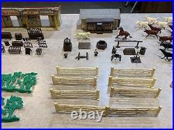 Marx Cattle Drive Play Set Box#3983