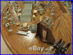Marx Civil War Blue & Gray Play Set 1960s 199 pieces