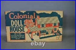Marx Colonial Doll House Rare Factory Sealed # 4072