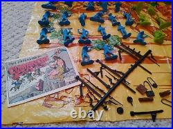 Marx Comanche Pass Playset with Box