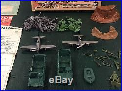 Marx Combat Landing Force Play Set Box#2649