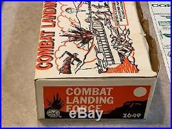 Marx Combat Landing Force Play Set Box #2649
