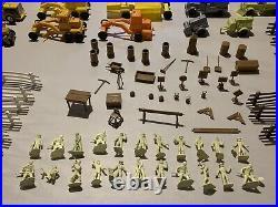 Marx Construction Camp Play Set abox#3442