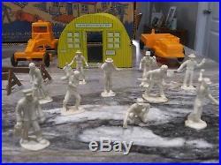 Marx Construction Playset 1950's Very Nice